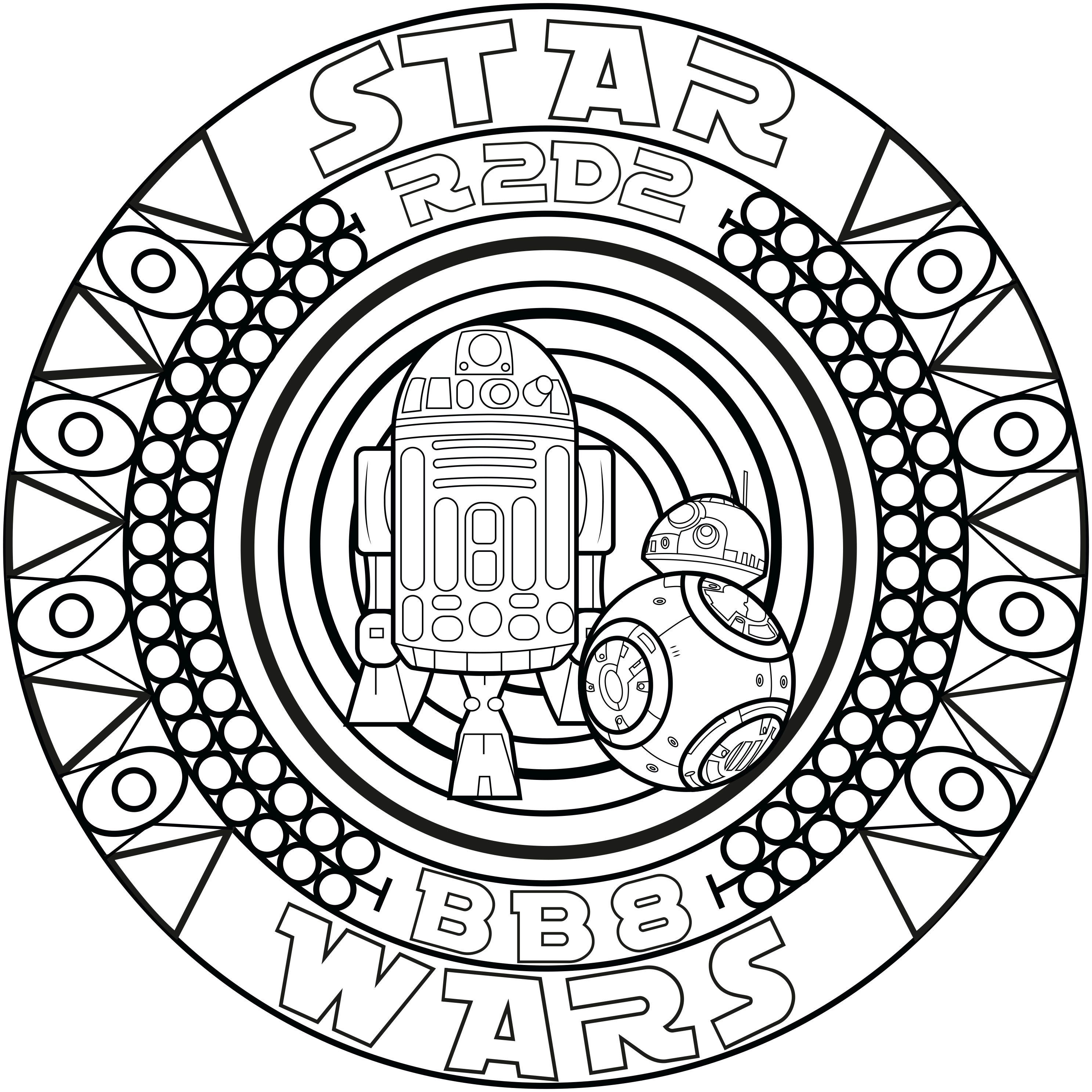 Pin by Катя Осинская on Раскраски 2 | Star wars coloring ...