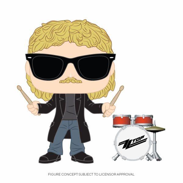 Funko POP! Rocks: ZZ Top - Frank Beard
