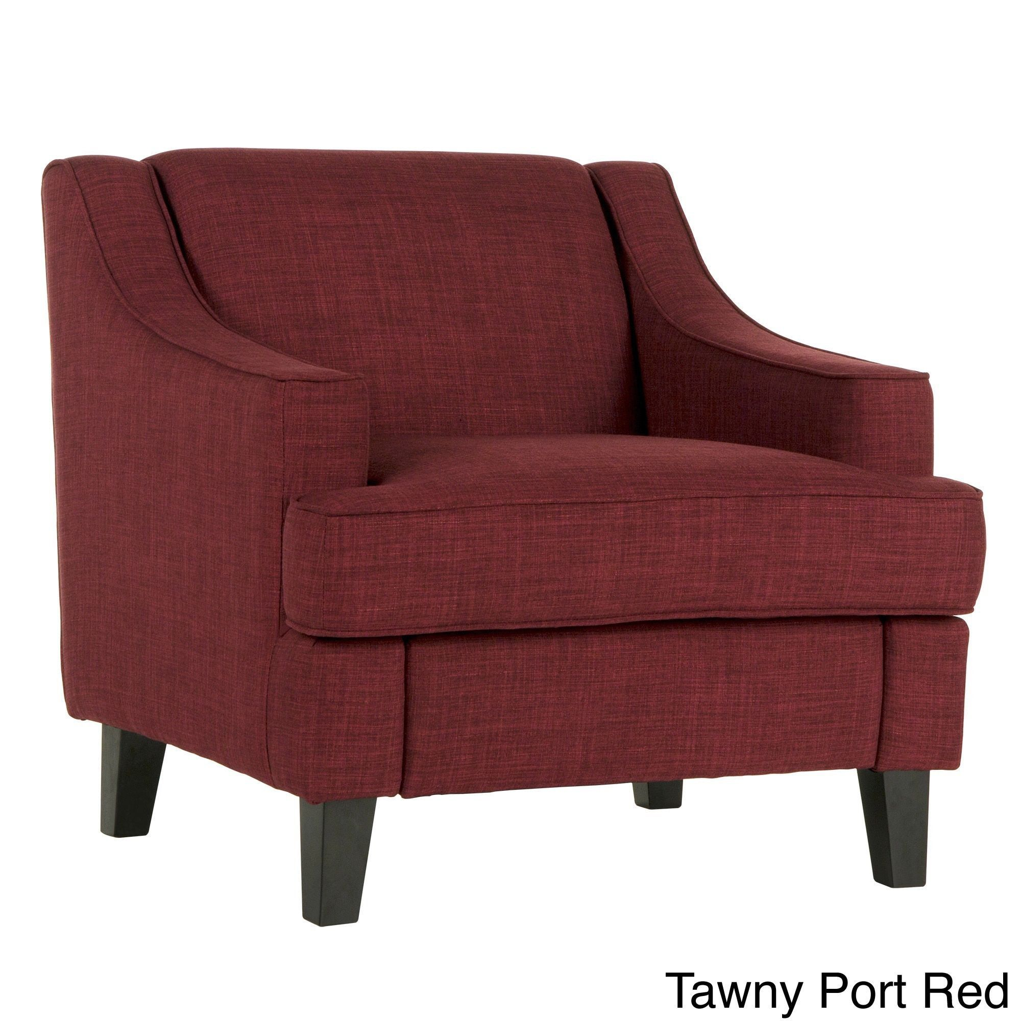 INSPIRE Q Winslow Concave Arm Modern Accent Chair by INSPIRE Q