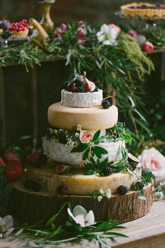 Guide pour créer sa pièce montée de fromages , idée mariage bohème chic ,  blog mariage Mademoiselle Cereza