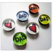 DIY magnets for Dad