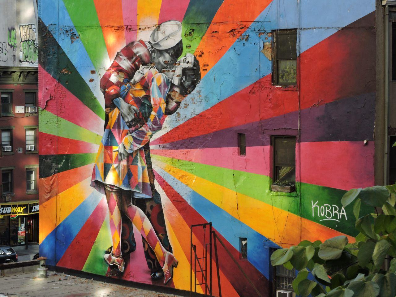 Highline Park Graffiti #love #lovelyplace #nyc #highline #bestkiss
