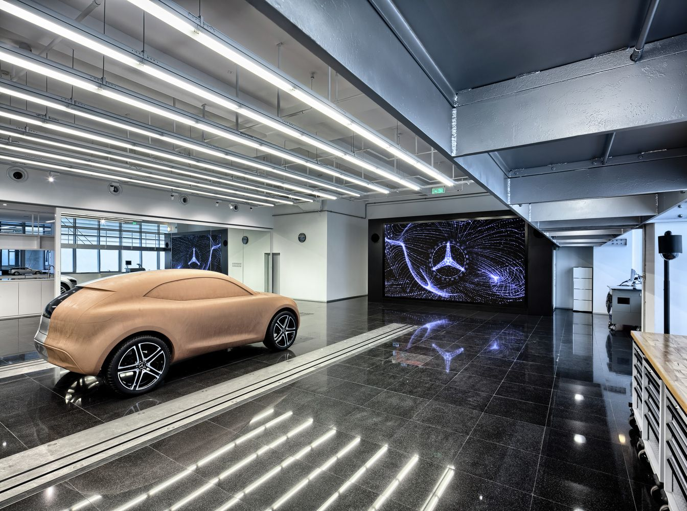 Gallery Of Mercedes Benz Advanced Design Center Of China Anyscale