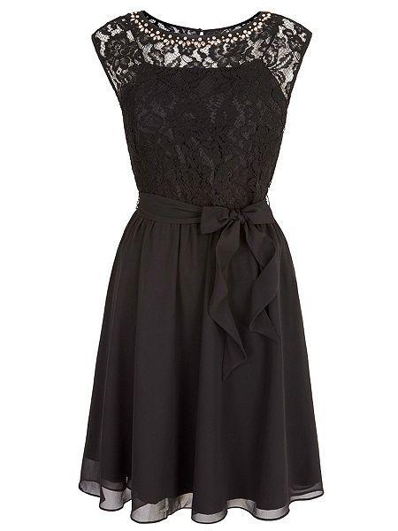 Embellished Lace Dress   Casual Dresses   Pinterest   Lace dress ...