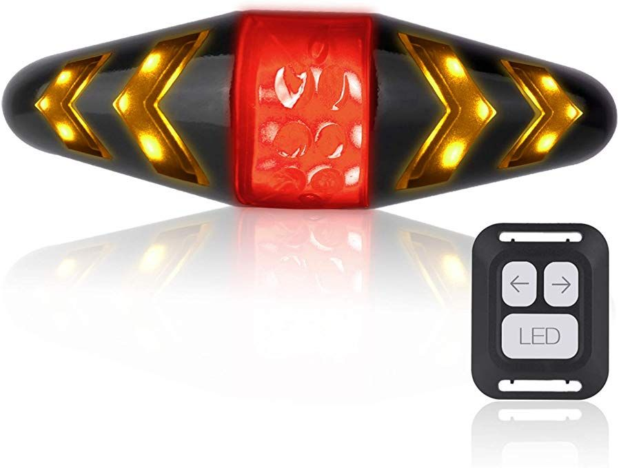Otyty Bike Tail Light With Turn Signals Usb Rechargeable Ultra