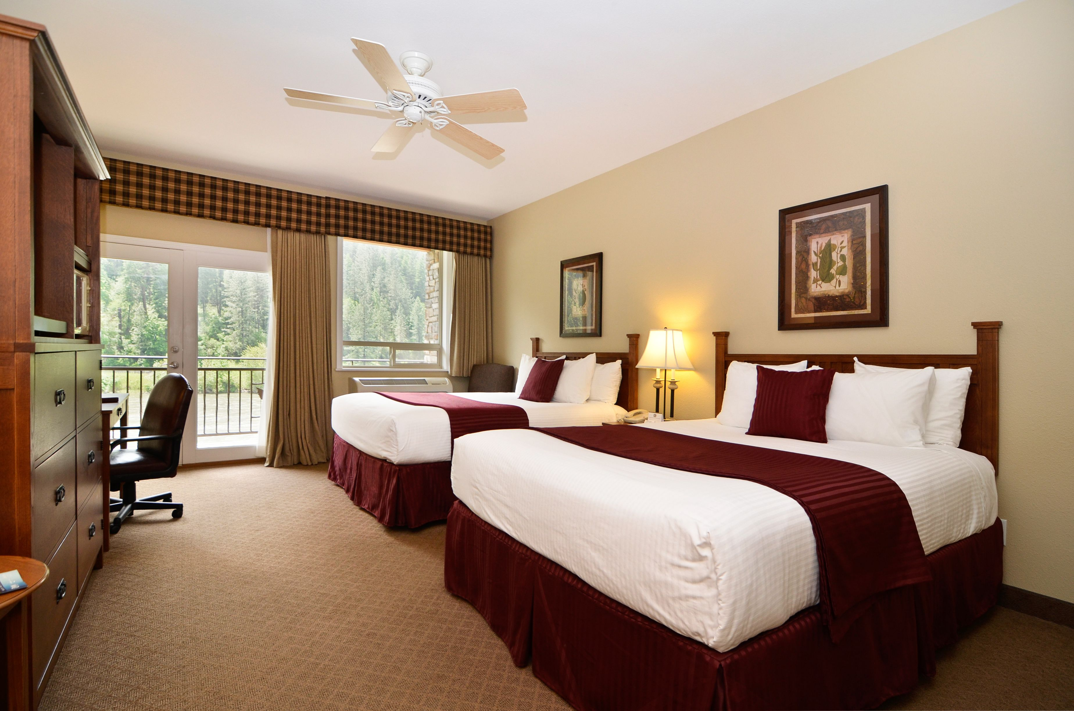 Double King River view Room... let the river lull you to