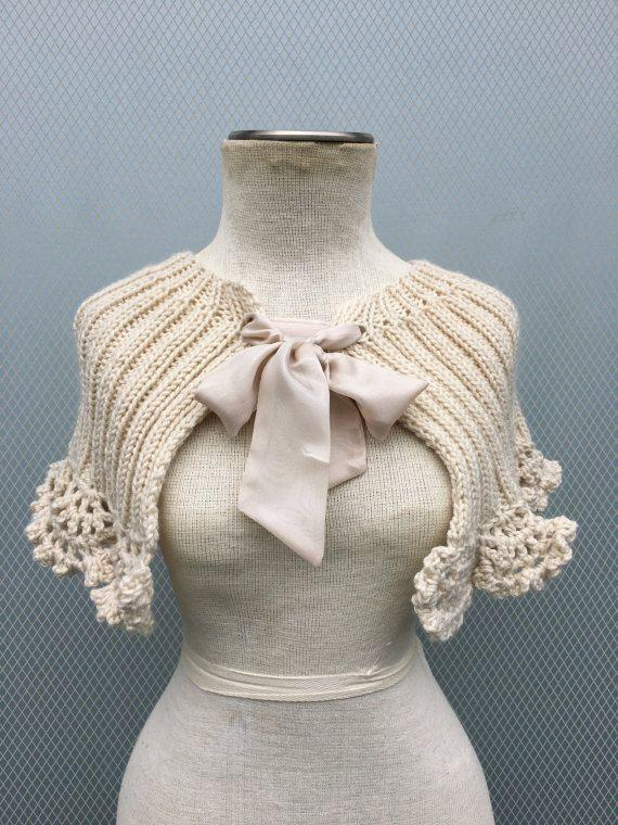 Châle de mariée Bolero Bridal Shrug Wedding Shrug par deniz03