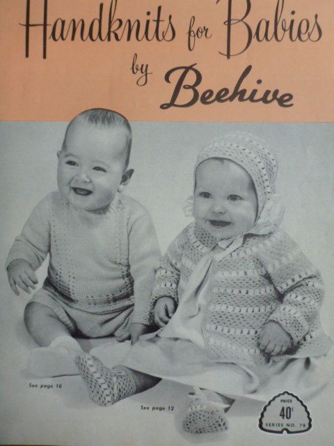 Handknits For Babies By Beehive To Knit And By Carolscreations77