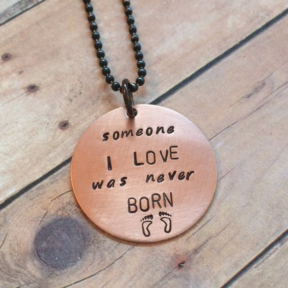 Miscarriage pendant reads someone i love was never born by bamary miscarriage pendant reads someone i love was never born by bamary 3200 aloadofball Choice Image