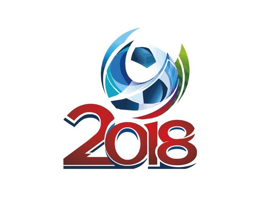 russia 2018 fifa world cup vector logo vector logos