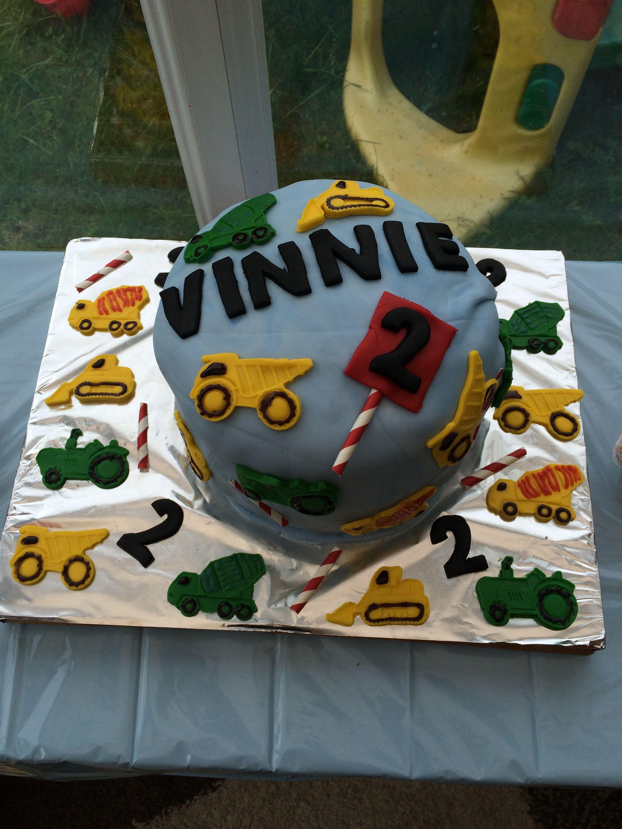 Diggerslorriestractors Birthday Cake Food Pinterest Tractor