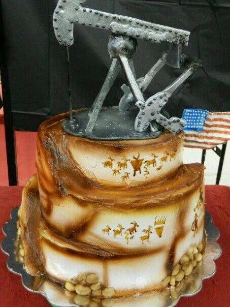 My Famous Oil Rig Cake Cakes By Me Quot Bb S Bodacious Cakes