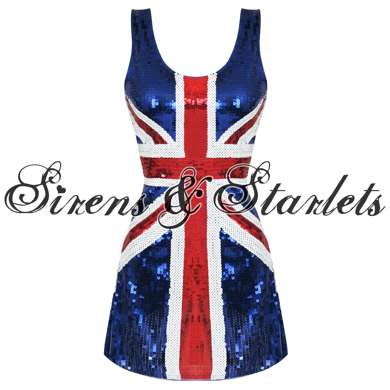 Details about NEW UNION JACK BRITISH 60S 90S GINGER SPICE GIRLS ...