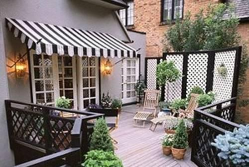 French Door Awning I Want A Backyard
