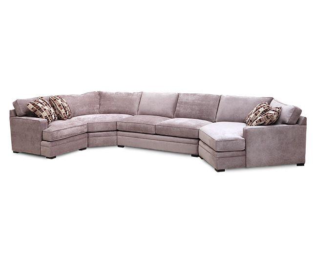 Glenwood 4 Pc Sectional Sofa Mart 1 844 763 6278