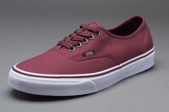 Vans Authentic - Mens Select Footwear - Rumba Red-Port Royale 2d3c950f2