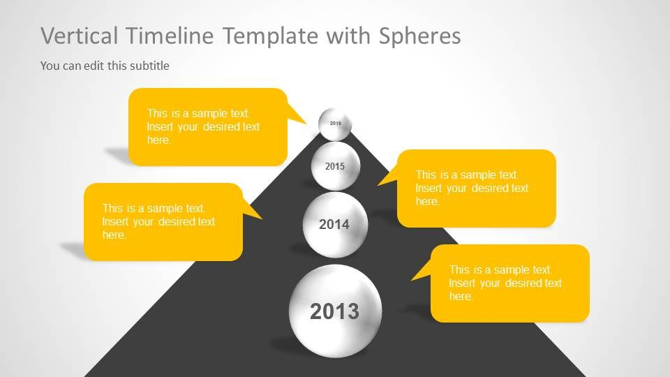 Creative Timeline Template for PowerPoint Timeline, Slide design - sample powerpoint timeline