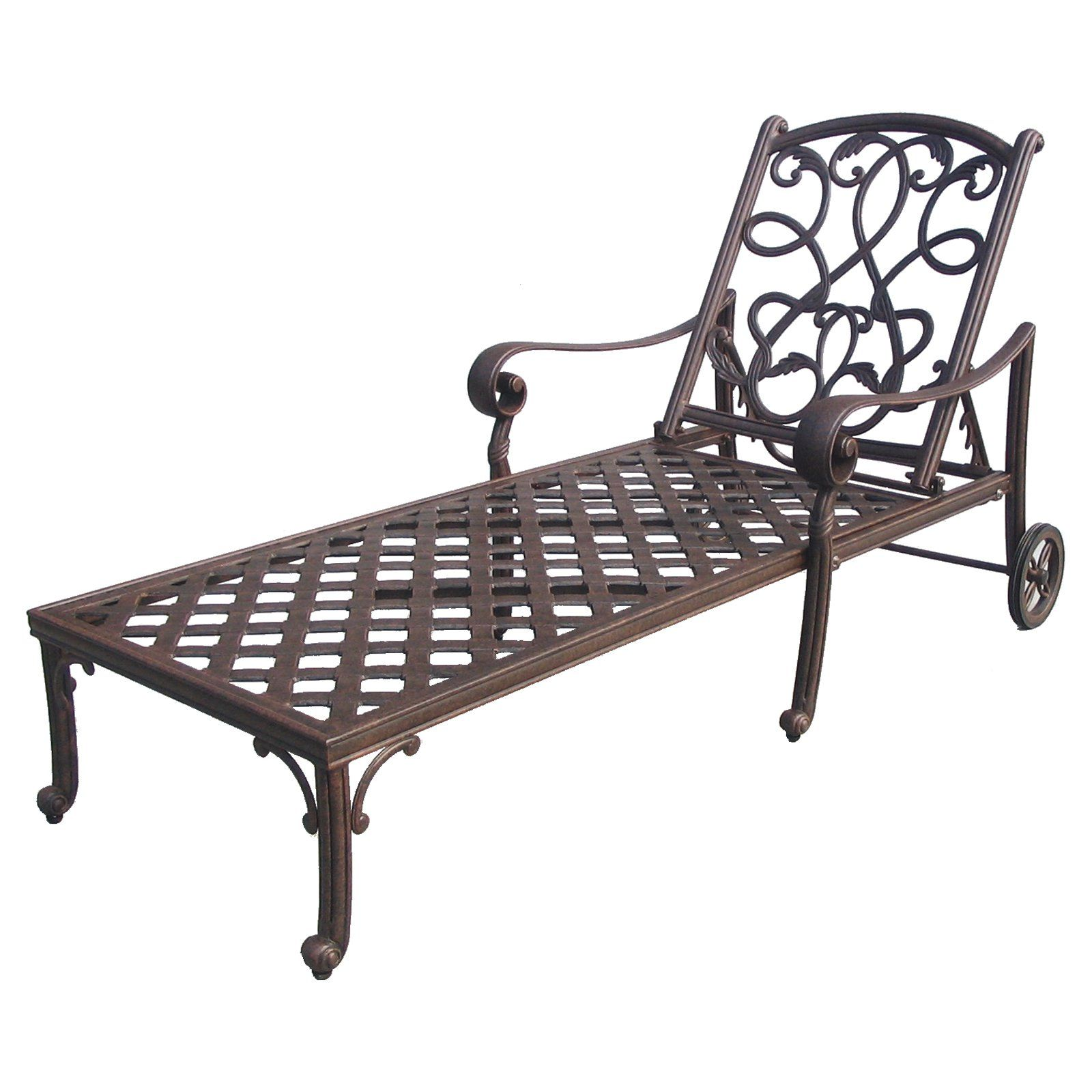 Darlee Santa Monica Chaise Lounge Chair  Designed To Make