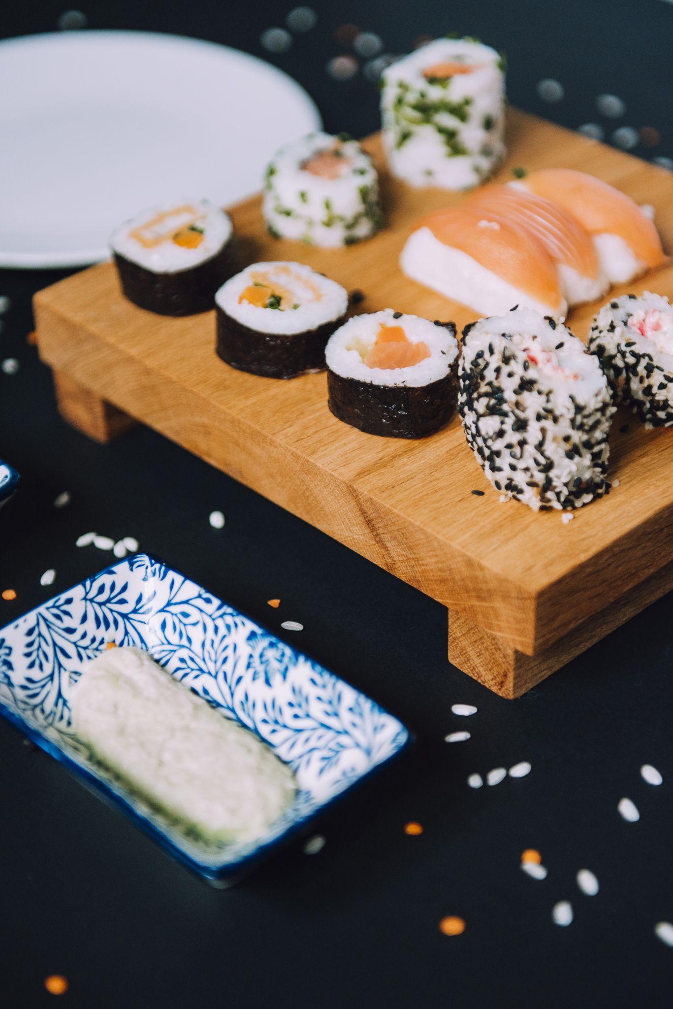 Deska Do Serwowania Sushi Sushi Przystawki I Dekoracje Do Domu