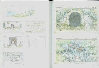 Living Lines Library: 千と千尋の神隠し / Spirited Away (2001) - Layout Design