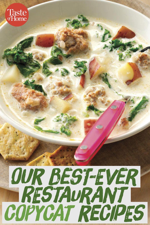 Photo of Our Best Restaurant Copycat Recipes