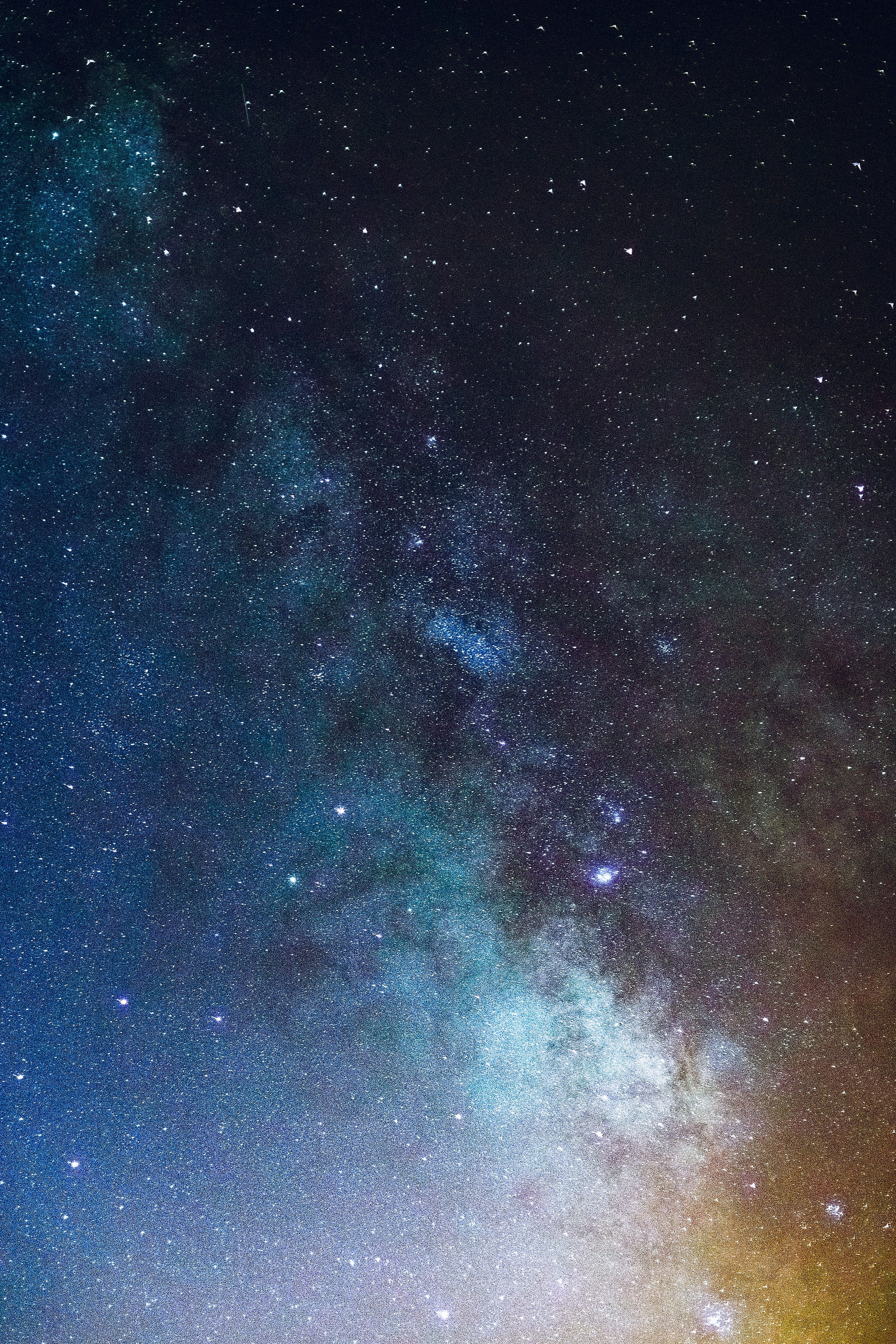Iphone X Wallpaper Milky way starry sky stars Hd in 2020