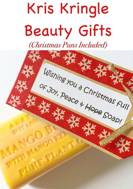 Kris kringle secret santa beauty gift ideas with christmas puns kris kringle secret santa beauty gift ideas with christmas puns included aimed to make xmas negle Gallery