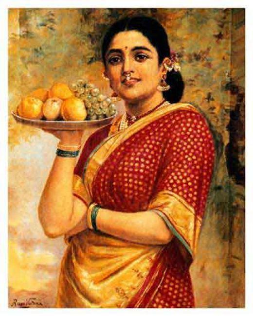 Raja Ravi Varma - Famous Indian Painter rmnathan.hubpages.com520 ...