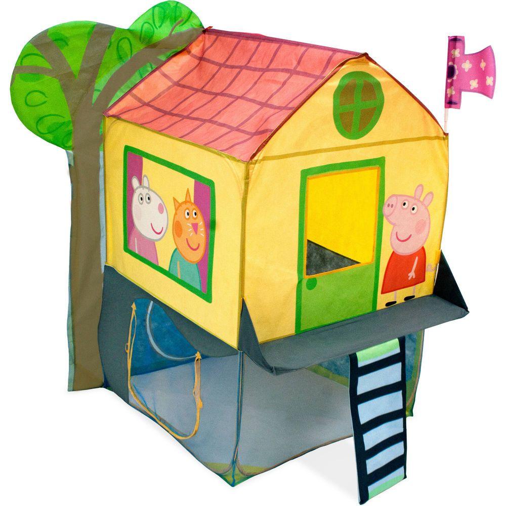 Kids Tent Peppa Pig Toys Tree House Playset Children Pretend Play Fun Pop Up New Kidstentpeppapig Peppa Pig Toys Peppa Pig House House Tent [ 1000 x 1000 Pixel ]