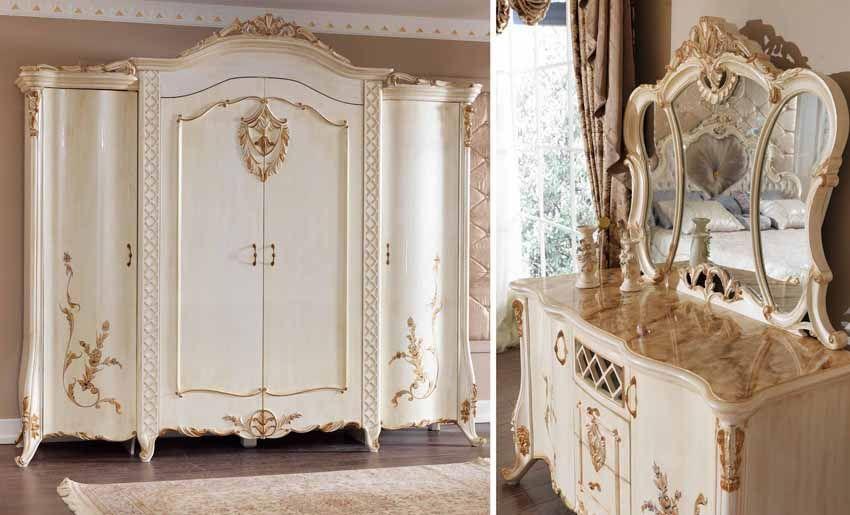 Venice Luks Klasik Yatak Odasi Takimi Yeni Yatak Odalari