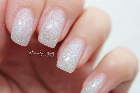 Gelnagel Natur Glitzer Nagel Pinterest Nails Nails