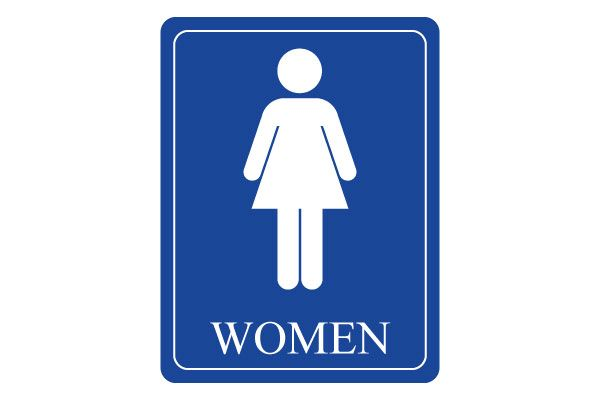Printable women restroom signs for women rest rooms free for Bathroom photos of ladies