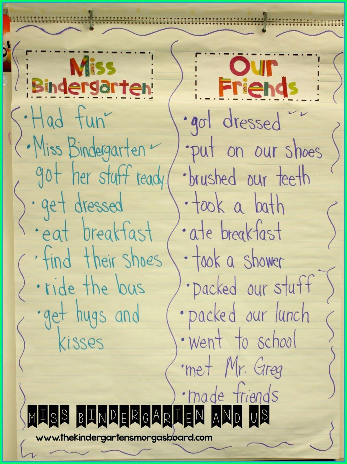 Kindergarten First Day Fun