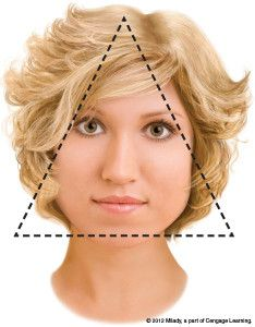 Hairstyles For Triangle Face Google Search Hair Cuts Pinterest