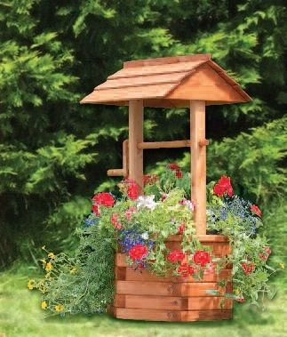 WISHING WELL Want to build one over our old well. Cute! | Back Deck ...