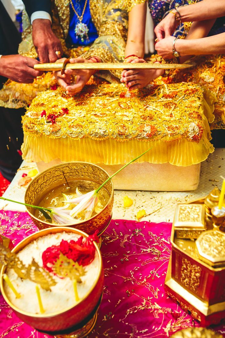 The Third Day Of A Cambodian Wedding Is When The Bride And Groom