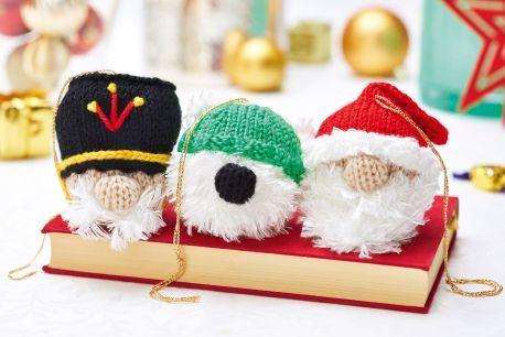 Christmas Characters Free Knitting Patterns Homewares Patterns