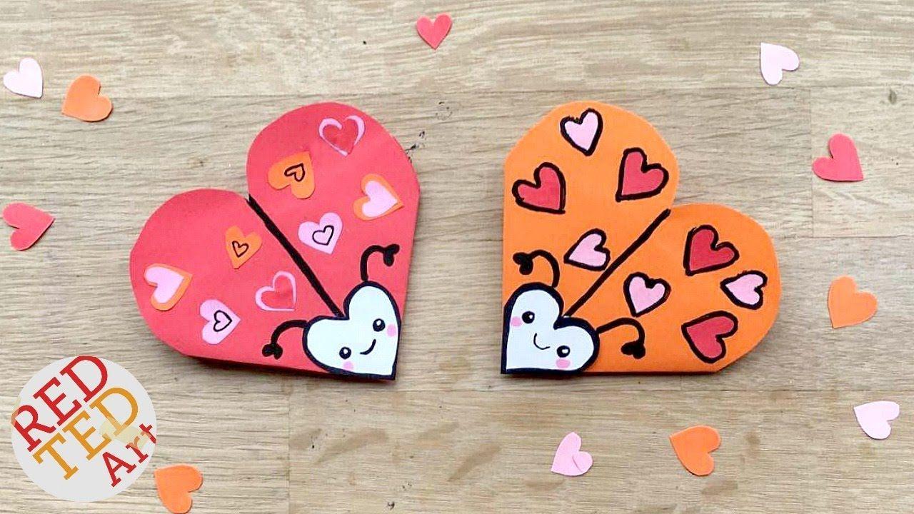 Easy love bug bookmark diy cute easy valentines diy paper easy love bug bookmark diy cute easy valentines diy paper diys jeuxipadfo Images