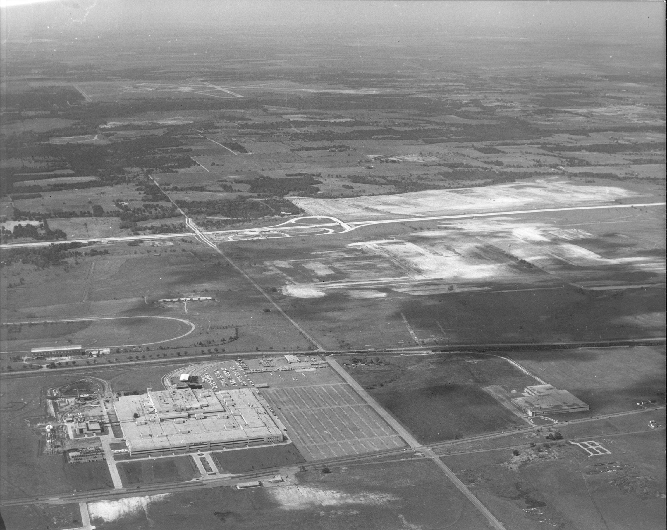General Motors Plant 1957 View Looking North Along What Is Today