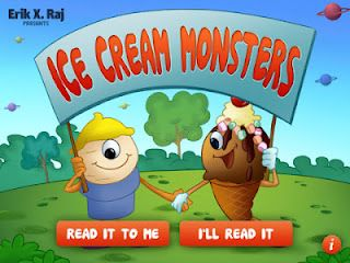 Ice Cream Monsters App Review & Giveaway! (Ends 6/29/12)