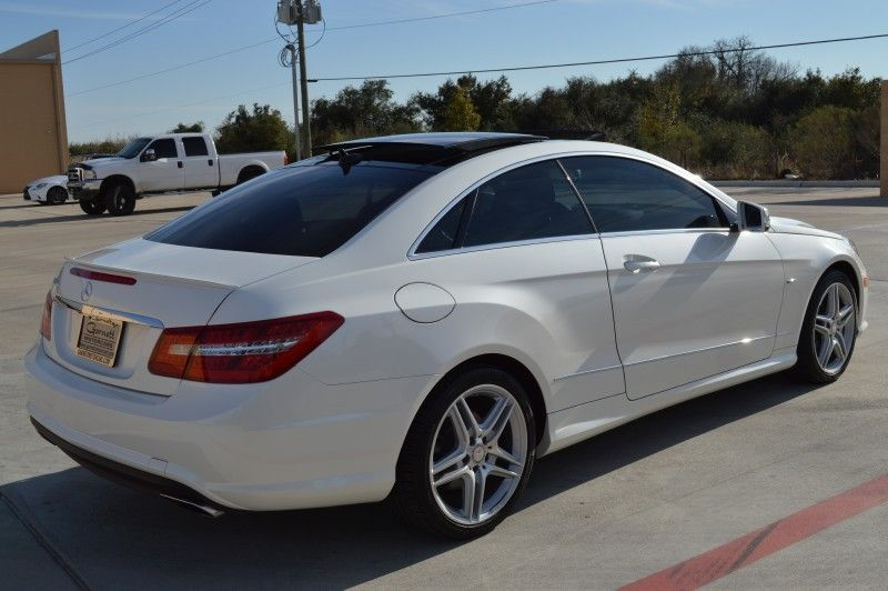 Wonderful Mercedes Benz E550 Coupe