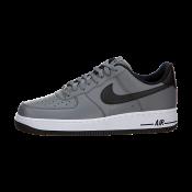 cca47fc65f4 Hombres Nike Air Force 1 Fresco Gris   Blanco-Negro
