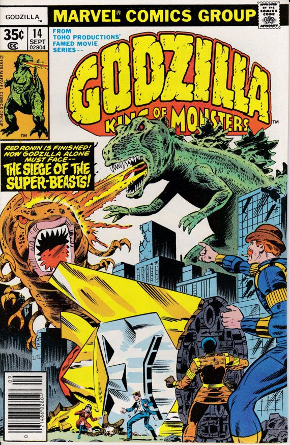 Godzilla 14 September 1978 Issue Marvel Comics by ViewObscura