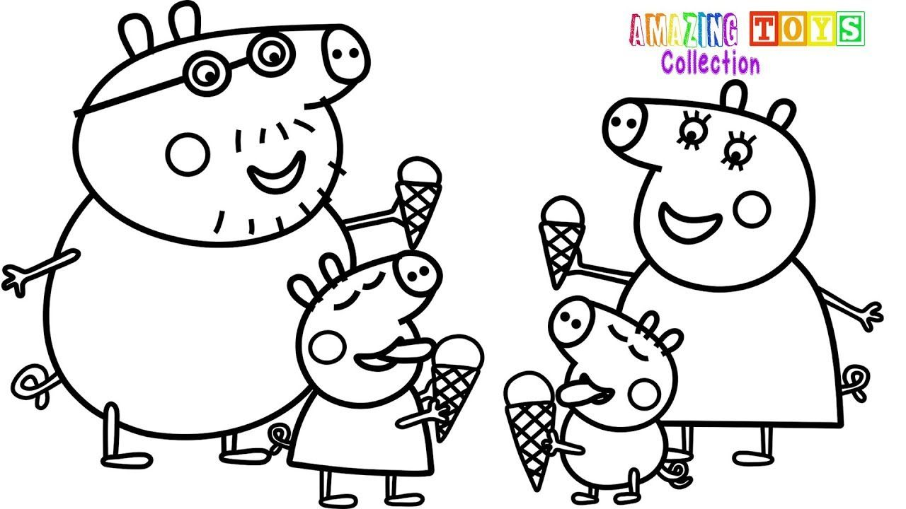 Pin by Amazing Toys Collection on peppa pig ice crem | Peppa pig