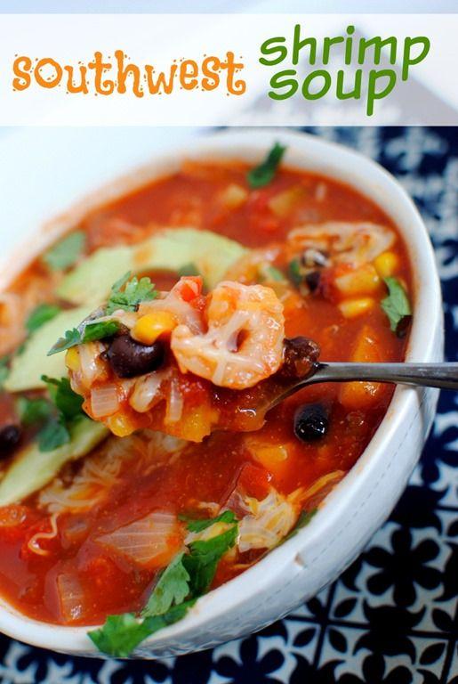 Southwest Shrimp Soup Recipe
