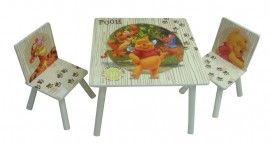 "Disney Winnie the Pooh Table + 2 Chairs ""Adventure"""