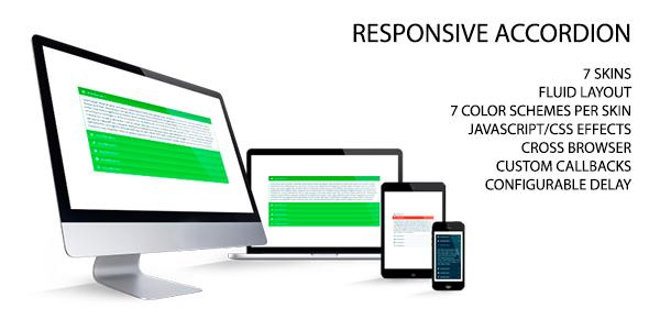 Responsive Accordion | Code Script | Web development