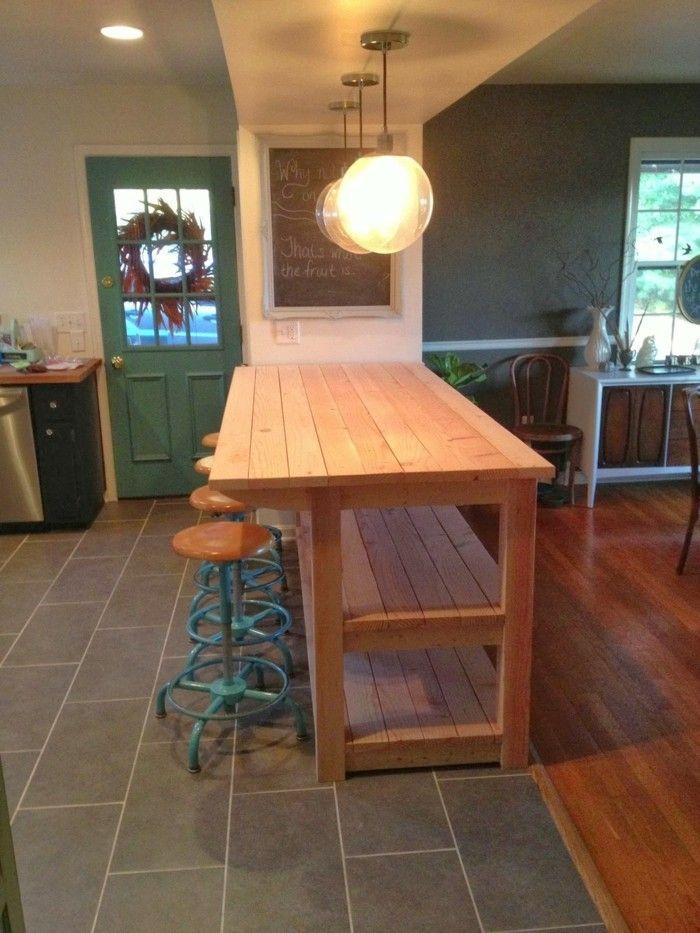 Küchenmöbel Und Kücheninsel Aus Europaletten | Möbel Aus Paletten