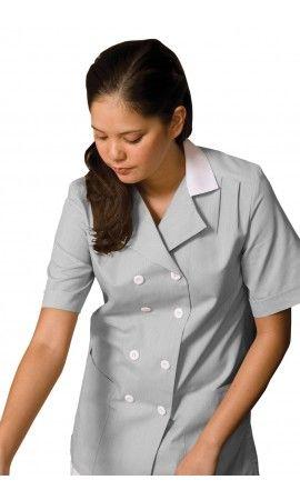 1a5f6f9685a Grey Pincord DB Housekeeping Tunic | Housekeeping Tunics & Shirts ...
