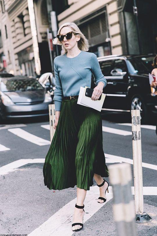 下一波秋冬潮流就是過膝百褶裙!配搭靈感街拍+10 款平價百褶裙+正確清洗方法一次公開!
